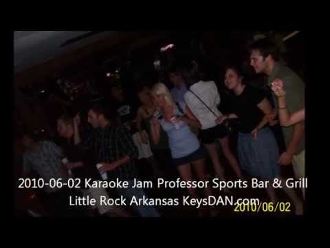 2010 06 02 Karaoke Jam Professor Sports Bar & Grill Little Rock Arkansas KeysDAN com