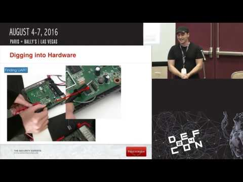 DEF CON 24 Internet of Things Village - Elvis Collado - Reversing and Exploiting Embedded Devices