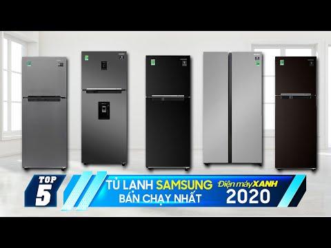 Top 5 tủ lạnh Samsung bán chạy nhất Điện máy XANH 2020