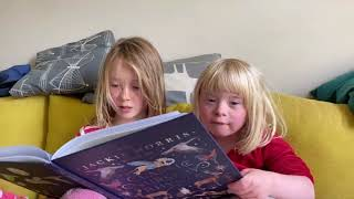 Kitty and Flo Read From The Jackie Morris Book of Classic Nursery Rhymes