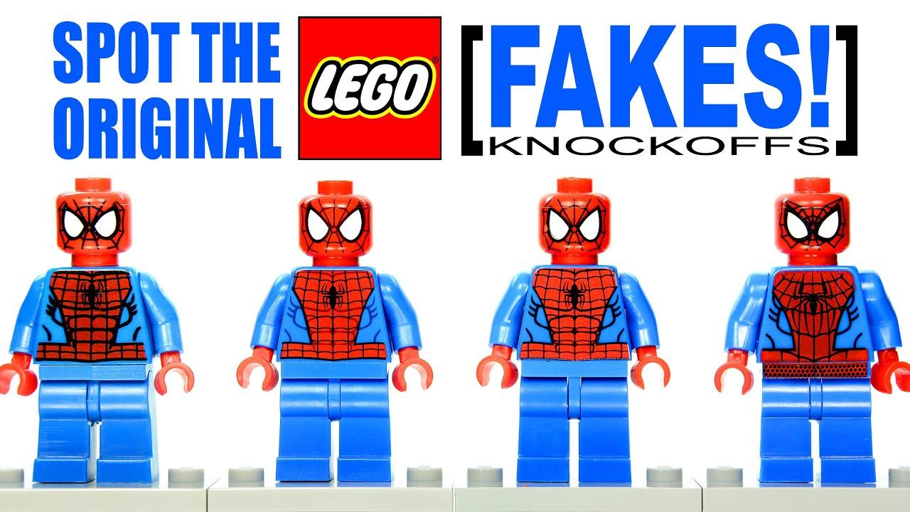 Lego Spiderman Malvorlagen Star Wars 1 Lego Spiderman: LEGO Spider-Man Marvel Super Heroes Original Vs Fake Buyer