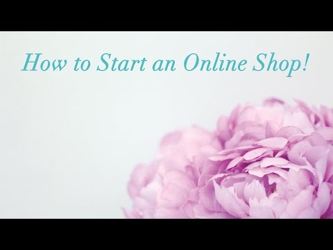 How to Start an Online Shop | For Etsy and Planner Shop Owners to Be!