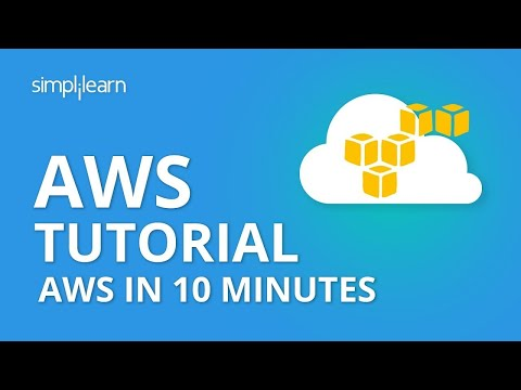 AWS In 10 Minutes | AWS Tutorial For Beginners | AWS Training Video | AWS Tutorial | Simplilearn