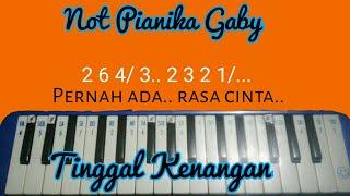 Not pianikia gaby - Tinggal kenangan