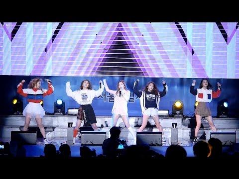 151028 레드벨벳 (Red Velvet) Huff n Puff [전체]직캠 Fancam (서울광장) by Mera
