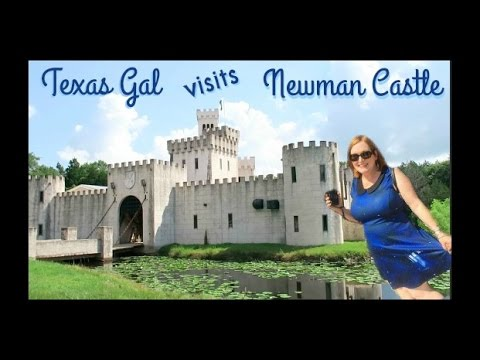 Texas Gal Visits Newman Castle in Bellville, Texas - Are There Castles in the United States?