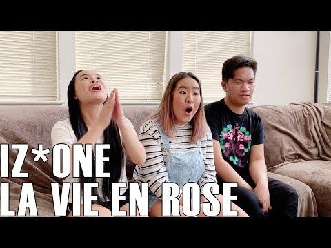 IZ*ONE (아이즈원) - La Vie En Rose (Reaction Video)