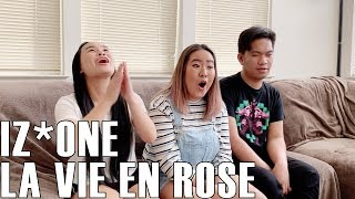 Video IZ*ONE (아이즈원) - La Vie En Rose (Reaction Video) download MP3, 3GP, MP4, WEBM, AVI, FLV November 2018