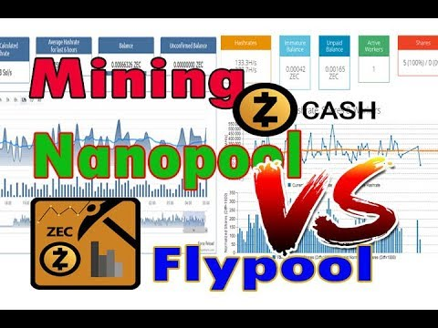 optimasi mining zcash nanopool vs flypool | indonesia