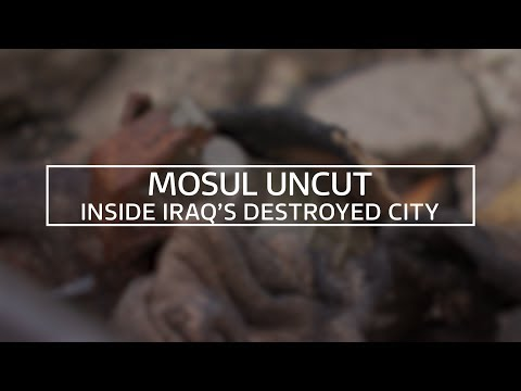 Mosul Uncut: ITV News Films Inside Iraq's Destroyed City