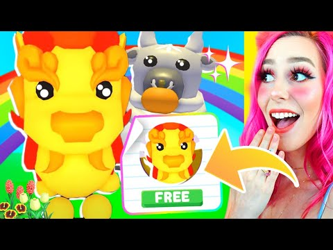 How To Get The Guardian Lion FOR FREE In Roblox Adopt Me