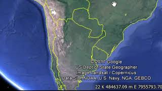 Google Earth - Localizar um local tendo a Coordenada UTM