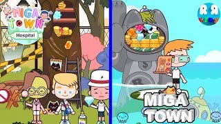 Can You find All Secret Place in Miga Town??!! - Miga Town: My Hospital and Miga My Town