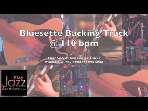 Bluesette 110 bpm Backing Track
