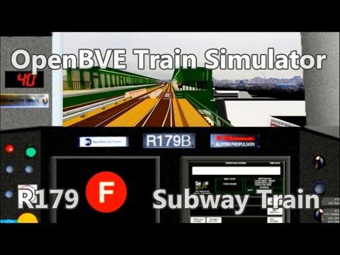OpenBVE ►R179B   F   Coney Island to Jay St MetroTech!◀