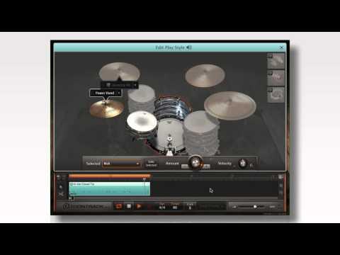 EZdrummer 2: Create a custom groove