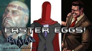 Batman Arkham Origins: Red Hood, Calender Man and Falcone Family Easter Eggs!