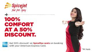 Spicejet Amex Offer