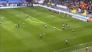 Vitesse 3-0 Zwolle / Mike Havenaar's assist / 09-21-2013