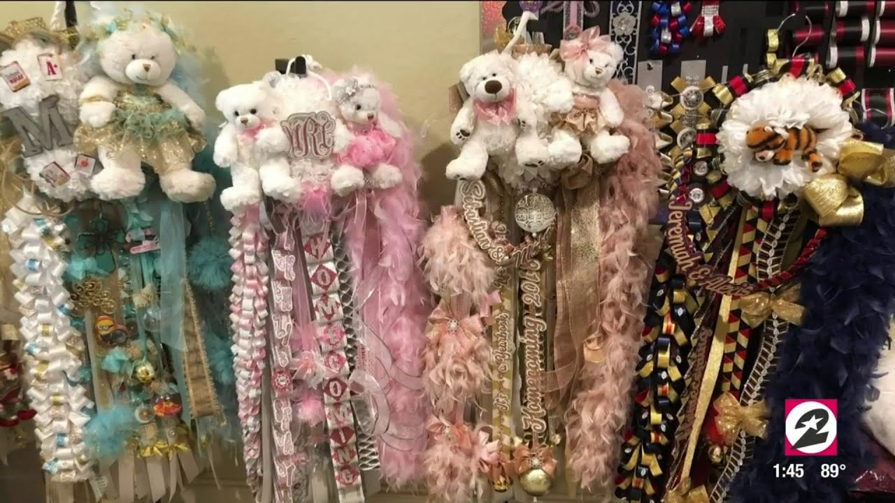 Spring Mom Creates Over The Top Homecoming Mums Houston Life
