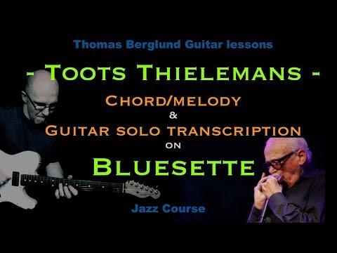 Bluesette - Chord/Melody Guitar arrangement & Guitar solo transcription