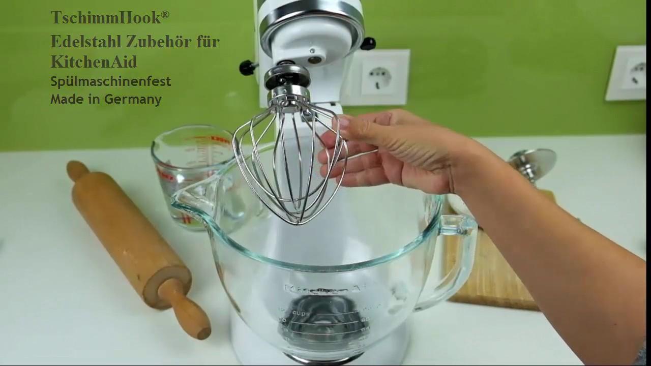 Schneebesen Für KitchenAid Made In Germany Spülmaschinenfest Edelstahl  Zubehör