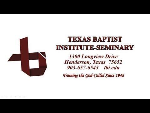Texas Baptist Institute & Seminary Update