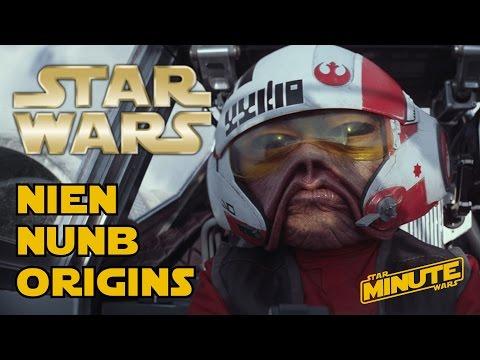 Nien Nunb Origins (Canon) - Star Wars Minute