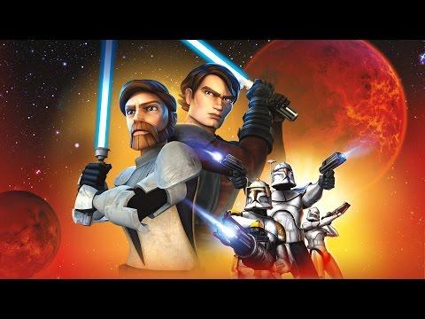 Star Wars: Clone Wars - Republic Heroes All Cutscenes (Games Movie) 1080p HD