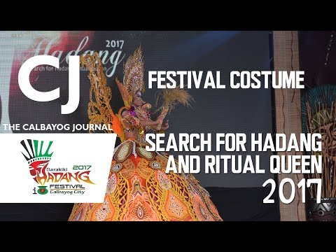 Festival Costume Competition  - Search for Hadang/Ritual Queen
