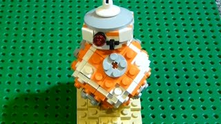 How to Build: Lego Star Wars BB-8 Droid