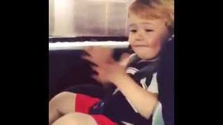 Funny Kids Imitate Songs
