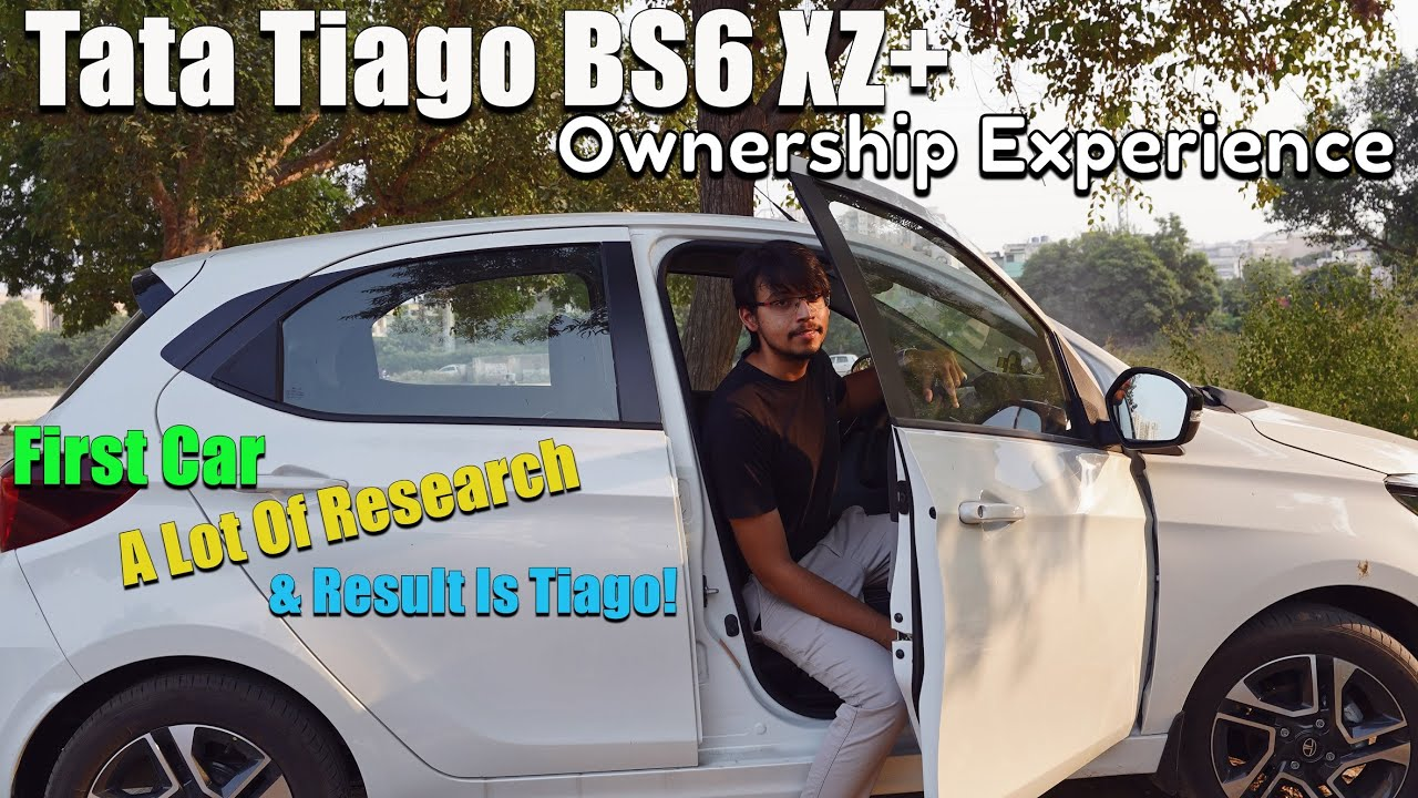 Tata Tiago BS6 XZ+   Ownership Experience   First Car   Is He Satisfied?   Can You Consider it?