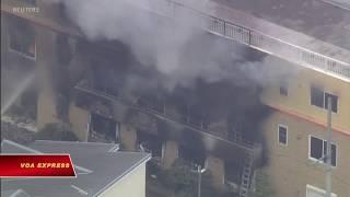 Cháy xưởng phim hoạt hình Nhật, 33 người chết (VOA)