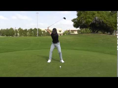 Tommy Fleetwood swing sequence