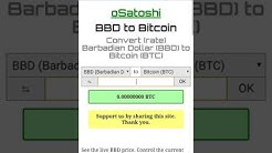 BBD to Bitcoin, Bitcoin to BBD