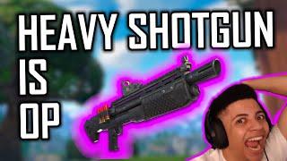 Heavy shotgun is OP! - A Fortnite Battle Royale Montage