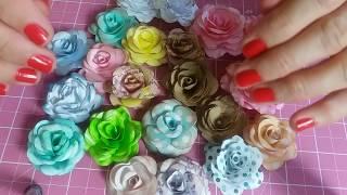 Flores de forminhas de doce
