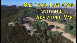 One Good Last Camp with the Adventure Van - On the Road -