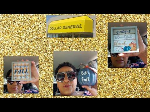 Dollar General Fall Walk Thru + Bonus Quick Dollar Tree Haul
