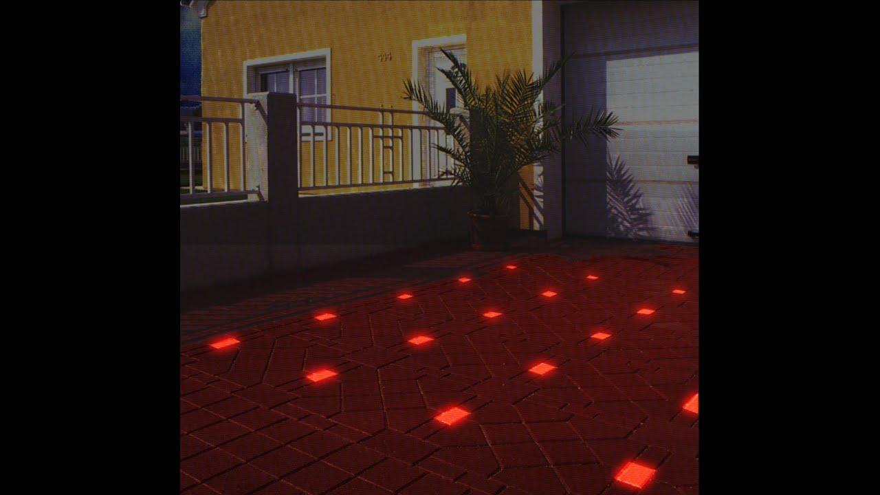 Светящаяся в темноте тротуарная плитка своими руками 70