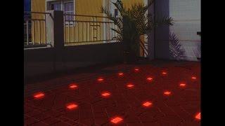 Светящаяся тротуарная плитка(Тротуарная плитка Харьковского производства отличается высоким качеством и долговечностью, но что ещё..., 2016-03-26T12:44:59.000Z)