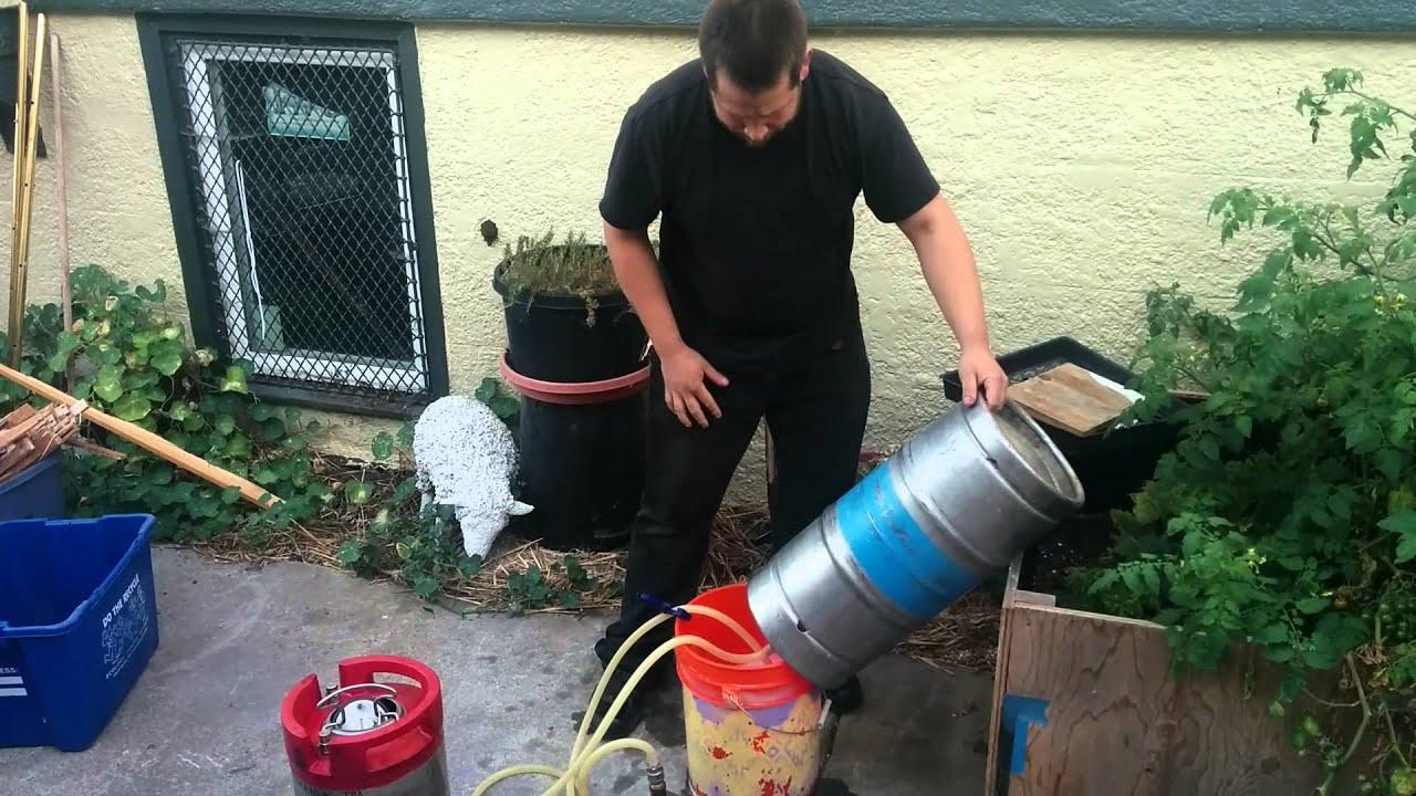 Diy home sanke keg cleaner youtube publicscrutiny Images
