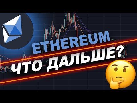 Криптовалюта ЭФИРИУМ Прогноз Октябрь 2019   Ethereum Что Дальше?!