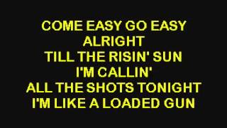 Aerosmith  Back In The Saddle - Karaoke.avi2