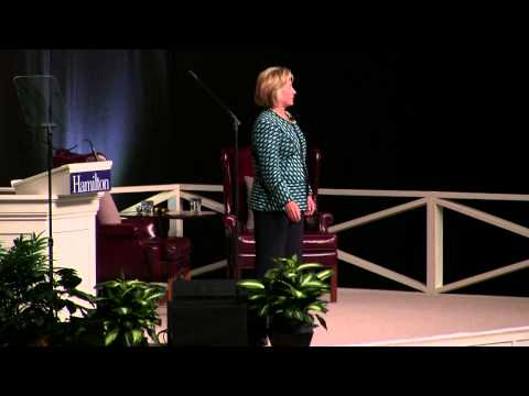 Hillary Clinton At Hamilton College -Part 2