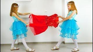 Polina está preparando para ir al baile.  El nuevo vídeo de Super Polina
