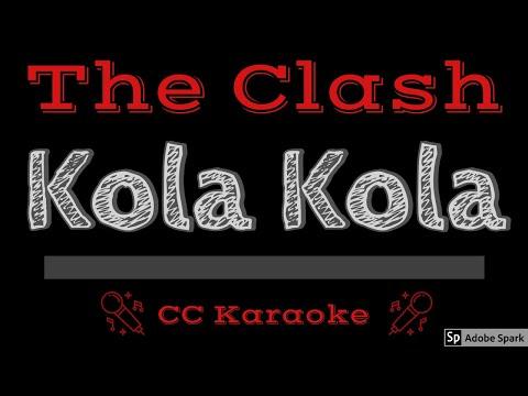 The Clash   Kola Kola CC Karaoke Instrumental