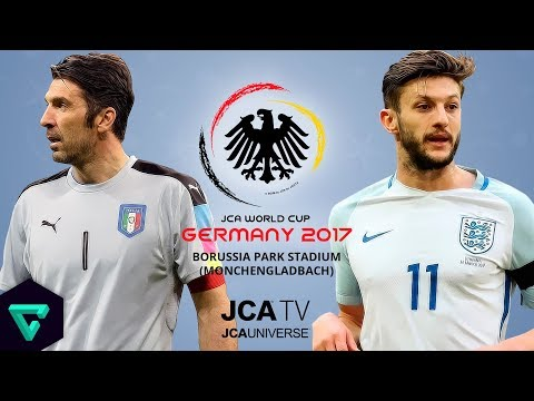 Italy vs. England | Group B | 2017 JCA World Cup Germany | PES 2017