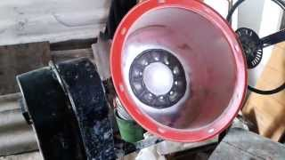 Xitoy tsement mixers ta'mirlash tank yorilib tiklash